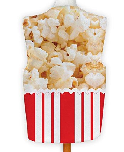 NEUHEIT Weste Kostüm Spass Legere Hirnrissig Fest Junggesellen Party Popcorn - Mehrfarbig, S