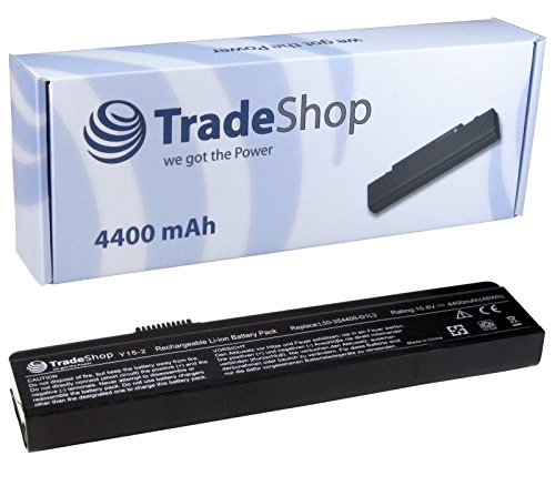 Trade-Shop–Batería Alta Potencia 4400Mah Para Portátil Para Fujitsu-Siemens Amilo Li1818Li1820Pi1505Pi1506Pi1510PA1510PA2510Pi2512Pi2520Li-1818, Li-1820Pi-1505Pi-1506pi-1510Pa-1510Pa-3553Pi-2512PI2515Pi-2515