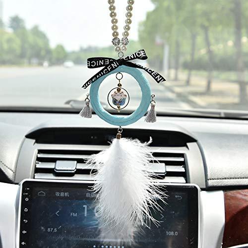 Handwerk Auto Anhänger Mode Auto Rückspiegel Dreamcatcher Windspiel Dekoration Home Room Dekor ()