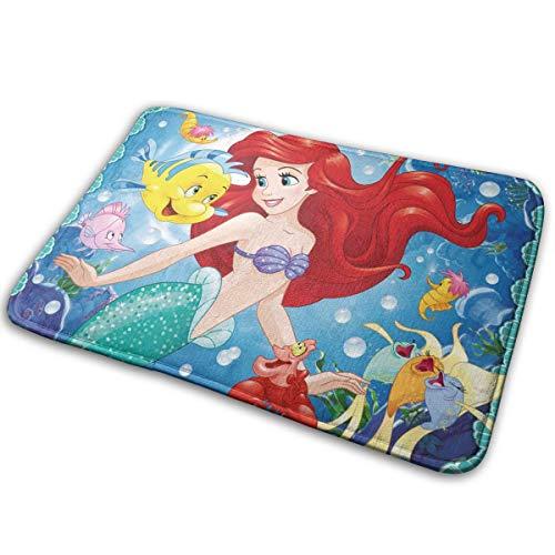 Greatbe Bienvenido Alfombra Puerta Ariel Mermaid Disney
