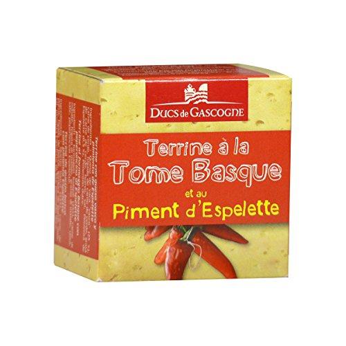 Ducs de Gascogne - Terrine à la Tome Basque et au Piment d'Espelette 65g
