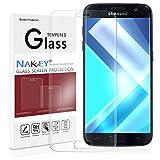 Samsung S7 Protection d'écran,Galaxy S7 Verre Trempé [9H dureté Résistant aux rayures Ultra Clair] Nakeey Film Protection Samsung Galaxy S7