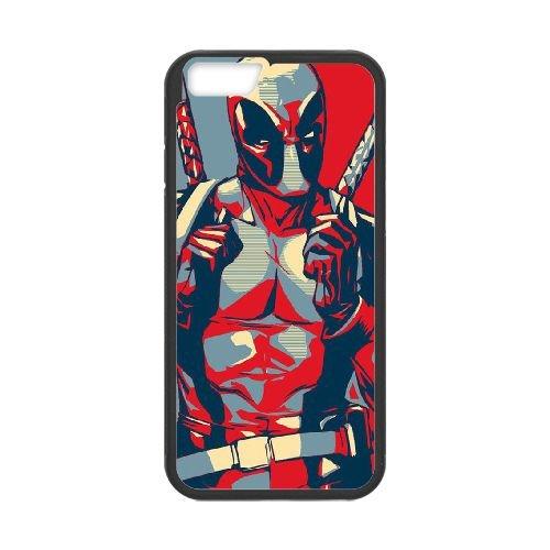 Deadpool coque iPhone 6 4.7 Inch Housse téléphone Noir de couverture de cas coque EBDXJKNBO11974