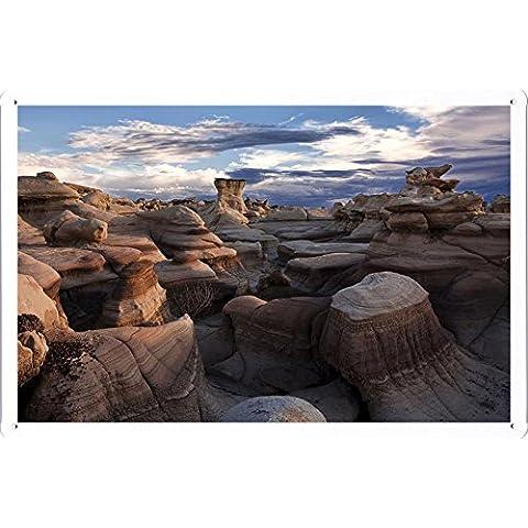 latta segno metallo piastra poster 20*30cm by Shawlux Décor (E2626F00537) - New Mexico Piastra