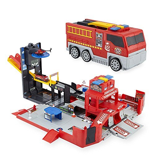 Fast Lane Fire City Playset by Fast Lane