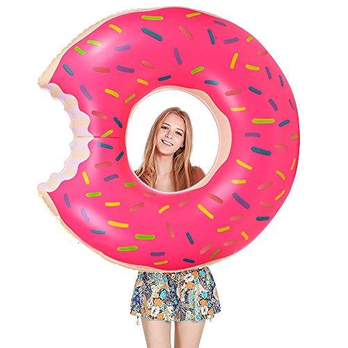 Flotador Donut, Migimi Anillo de Natación Flotador, Agua Pool Float Juguetes Inflables...