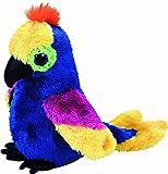 TY 36885 Wynnie, Papagei 15cm, mit Glitzeraugen, Glubschi's, Beanie Boo's
