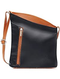 ede7b1d56356 Handbag Bliss Italian Leather Small Crossover Crossbody Handbag Shoulder Bag