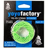 Yo-yo Spare Strings Pack by YoyoFactory - 100% Polyester, 5 pcs, Bright Verde Color, Fits All Yoyos