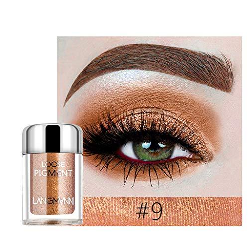 Mutter beste Geschenke für Frauen !!! Beisoug Shimmer Glitter High Perlglanz Lidschatten Pulver Palette Matte Lidschatten Kosmetik Make-Up (3 cm x 3 cm x 3 cm)