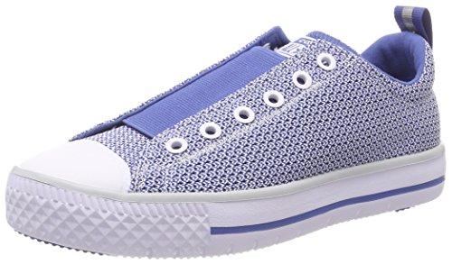 Converse Unisex-Kinder CTAS HYPERSLIP OX Pure Platinum Sneaker, Blau Nightfall Blue 020, 37 EU