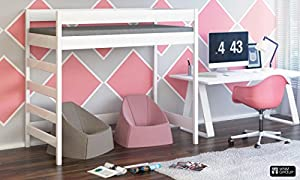 Hubi Loft Bunk Bed side enter free shipping