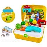 WEISY Kinder küche Toys Set für Kinder Jungen mädchen Kunststoff bildungs   Simulation Medizin Box Arzt Set