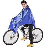 OULII Bici bicicletta impermeabile impermeabile Poncho pioggia emergenza Poncho