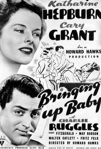 Moviestore Katharine Hepburn als Susan in Bringing Up Baby 25x20cm Schwarzweiß-Foto -