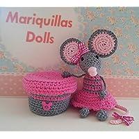 Ratoncito Pérez Guardadientes de Mariquillas Dolls. Regalos únicos y especiales. Regalos inolvidables. Se puede elegir personalizar color.