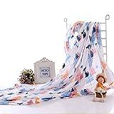 Holoras Baby muslin Swaddle blankets, grandi dimensioni 119,4x 119,4cm coperta per neonati, morbido e multi uso