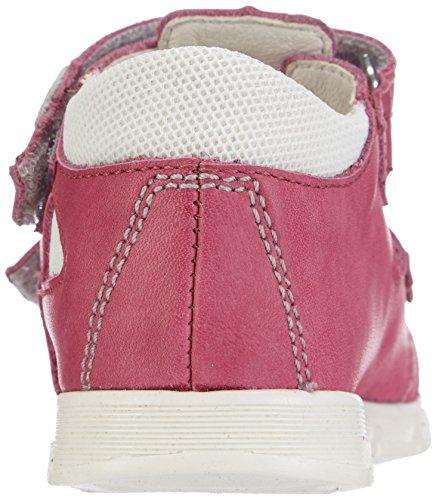 Däumling  Eddie, Chaussures premiers pas pour bébé (fille) Rose - Pink (Fortuna ciclamino06)