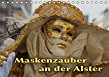 Maskenzauber an der Alster (Tischkalender 2016 DIN A5 quer): Ein jährlich wiederkehrendes Ereignis in Hamburg (Geburtstagskalender, 14 Seiten) (CALVENDO Kunst)