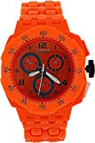 ZAZA London PL342 orange - Reloj , correa de plástico color naranja