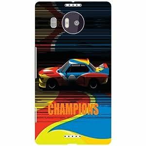 Back Cover For Microsoft Lumia 950 XL (Printed Designer)