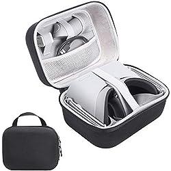 Xberstar Oculus Go Coque, Rigide EVA Voyage Sac de Transport étui de Rangement à Main Valise Boîte de Protection Accessoires pour Oculus Go VR et Micro