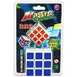 OTE Rubix Cube 3x3 Cube High Speed Magic Cube 3x3x3 Stickerless Magic Speed Cube Puzzle 3x3, Free Mini Cube Birthday Return Gift