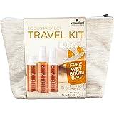 Schwarzkopf BC Bonacure Sun Kit de viaje Champú, Spray de brillo y Acondicionador - 300 ml