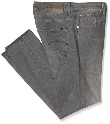G-STAR RAW Herren Slim Slim Jeans 3301 Slim, Gr. W40/L34, Grau (Medium Aged 71)