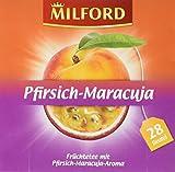 Milford Pfirsich-Maracuja, 28 Beutel, 6er Pack (6 x 63 g)