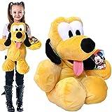 Plüschtier Pluto große XXL Plüschfigur Disney aus Micky Maus Wunderhaus 54cm