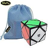 Juguete del rompecabezas Cubo Negro Moyu Skewb velocidad Cubo Mágico Puzzle + Uno Moyu Cubo Bolsa