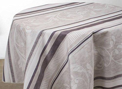 Mantel Antimanchas Arabesque - tamaño : Ovalado...