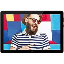 """Huawei Mediapad T5 10 Tablet LTE con Display Full HD, 1920 x 1200 da 10.1"""" in 16:10, Processore da 2.3 GHz, Memoria RAM da 4 GB, Memoria Interno da 64 GB, Nero"""