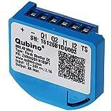 Qubino ZMNHOD1 Flush Shutter DC Unterputz-Mikromodul EU Z-Wave Plus, Schwarz, Blau