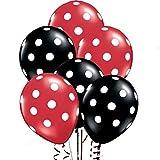 Balloon Junction RED & BLACK Polka Dot B...