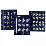 Münzblätter VISTA, für 5-Euro-Münzen, 2er Pack