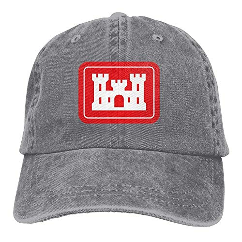 DFSDFSASDF United States Army Corps of Engineers Adult Sport Adjustable Structured Baseball Cowboy Hat -