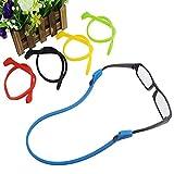 d810060e77 Kingwin 4pcs suave silicona gafas cordón soporte para las gafas de  seguridad – color al azar