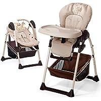 Hauck Sit'n Relax Zoo - Chaise Haute 2 en 1 | Convertible en transat, dès naissance, évolutive, réglable en hauteur