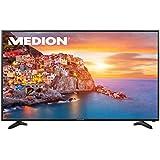 """'Medion Life p18090MD 31179138,4cm 55""""rétroéclairage LED TV, UHD 4K, triple tuner HD DVB T2DVB-C DVB-S2, lecteur multimédia intégré, classe d'efficacité énergétique: A, noir"""