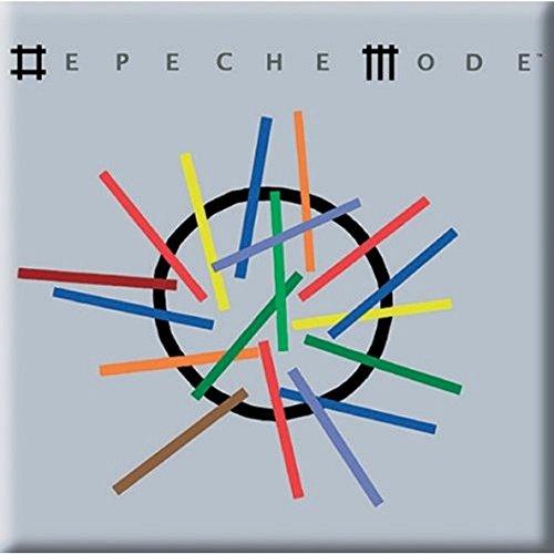 Kühlschrank Vinyl Cover (Depeche Mode - Metall Magnet - Sounds of the Universe - Album Cover - Logo)