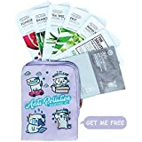 The Face Shop Anti-Pollution/Pore Care Masksheet Combo (Pack Of 7), 20 g