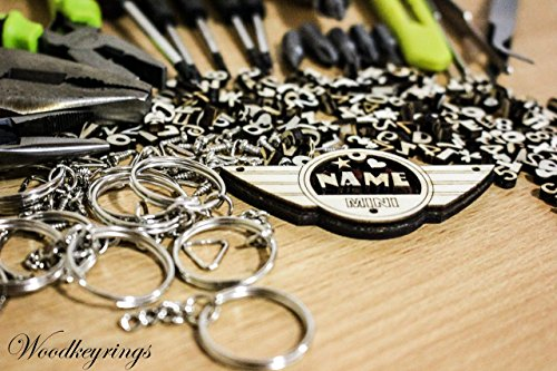 mini-cooper-logo-keyrings-personalised-handmade-gifts-wood-keyring