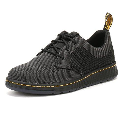 Dr. Martens Noir / Anthracite Cavendish Knit Chaussures