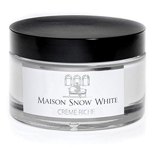 Maison Snow White | Crème Riche | reichhaltige Body Creme | luxuriöse, bio-zertifizierte...