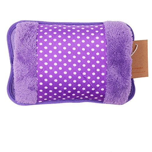 Telishop Electric Hot Bag, Hand Warmer, Electric Heater Warm Bag, Heating Gel Pad Fur Velvet With Hand Pocket Pain Relieve