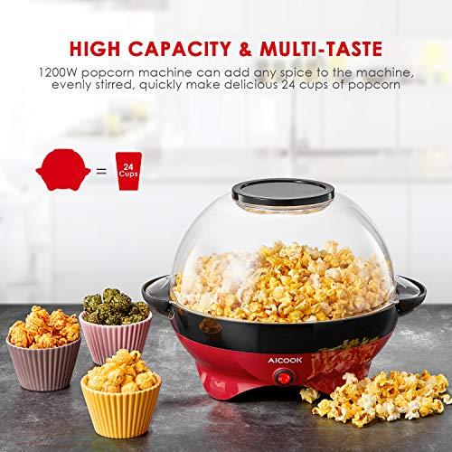 Aicook – Popcornmaschine – mit Heizplatte - 7