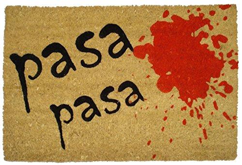 Felpudos Originales  con Diseño Pasa, Coco, 60 x 40 cm