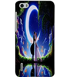 HUAWEI HONOR 6 LOVE COUPLE Back Cover by PRINTSWAG